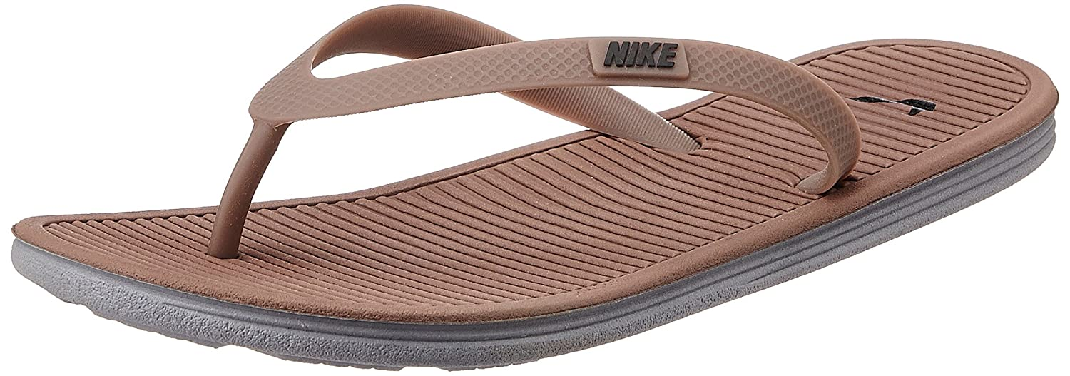 60737b037523 Nike Men s Solarsoft Thong II Taupe Haze