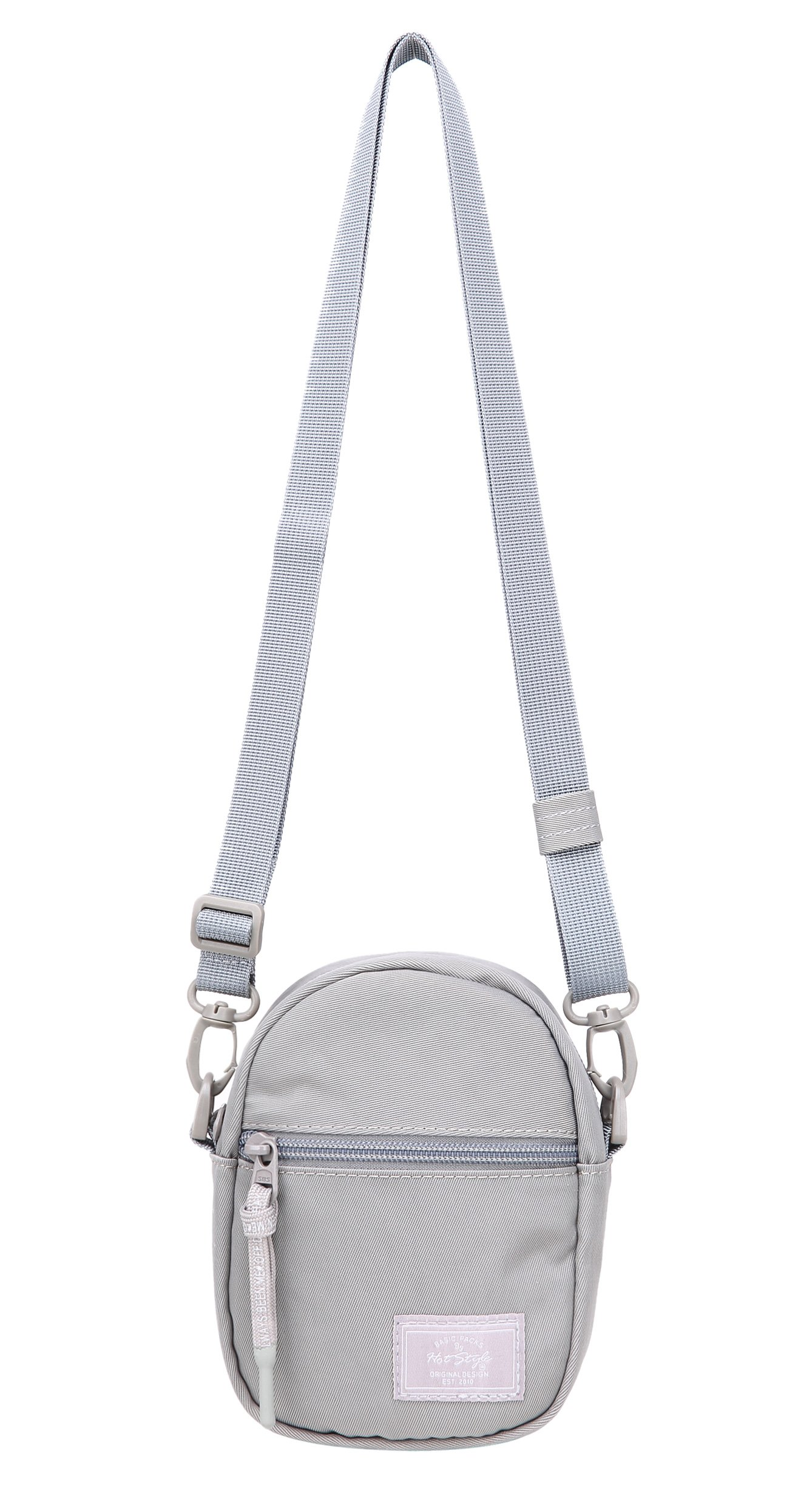 530s Small Cross Body Purse Little Phone Bag Cute for Travel   Silver