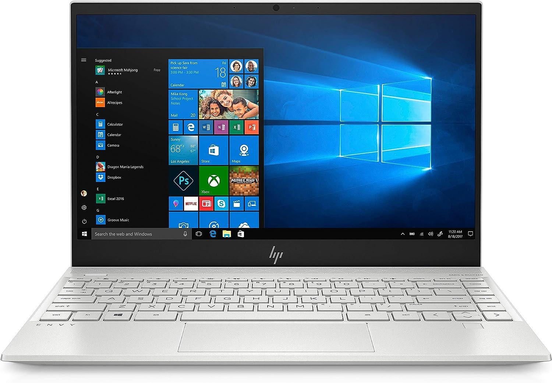 HP Envy 13-aq0050od 13.3 inches Full HD (Non-Touch) Laptop, Intel Core i5-8265U, 1.60GHz, 8GB RAM, 256GB SSD, Windows 10 Home 64-Bit - 6HR10UA#ABA (Renewed)