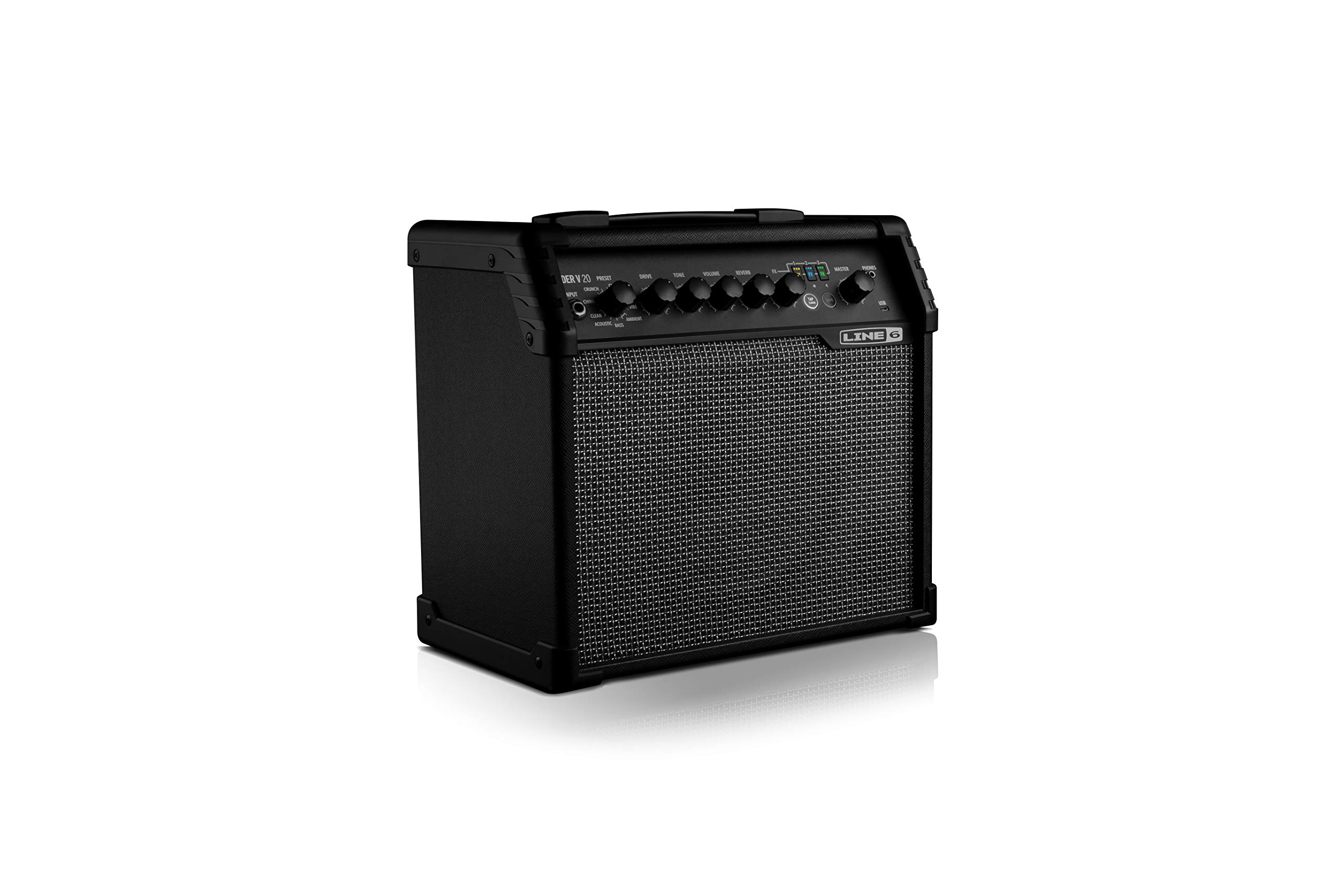 line 6 guitar combo amplifier spider v 20 guitar affinity. Black Bedroom Furniture Sets. Home Design Ideas