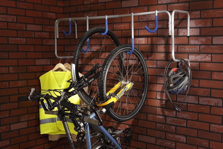 Mottez porte v los mural pour 5 v los ebay - Porte velo mural ...