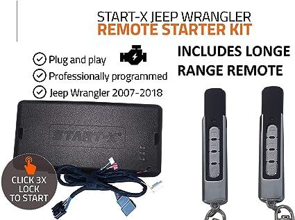 Amazon Com Start X Long Range Remote Start Starter Kit For Jeep