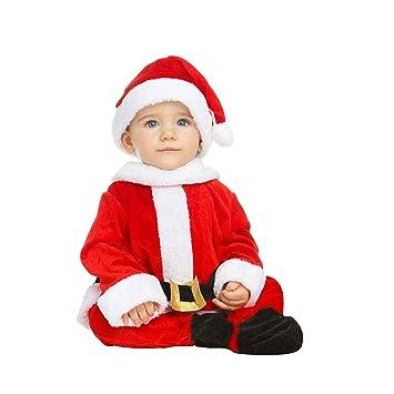 My Other Me Me-203274 Disfraz de Papa Noel para niño, 0-6 meses (Viving Costumes 203274