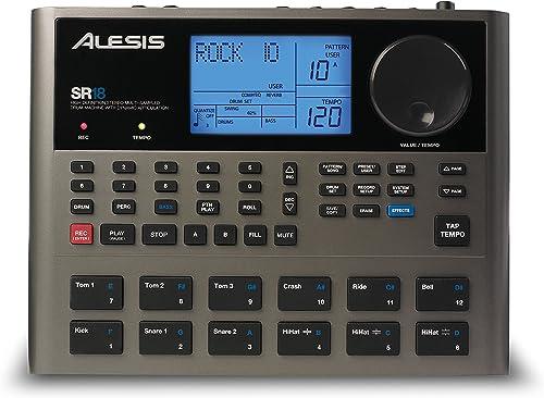 Alesis SR18 sound control