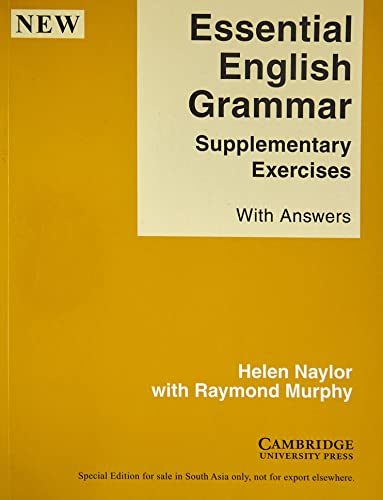 Essential English Grammar - Supplementary Exercises Indian edition