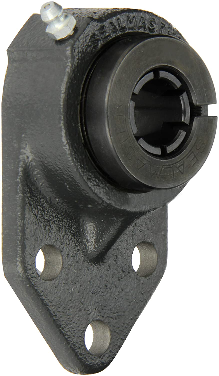 Sealmaster FB-12TC Standard Duty Flange Bracket Regreasable 3 Bolt /±2 Degrees Misalignment Angle 3//4 Bore 4-1//4 Overall Length Regal Cast Iron Housing Contact Seals 3//4 Bore 5//16 Flange Height Skwezloc Collar 4-1//4 Overall Length