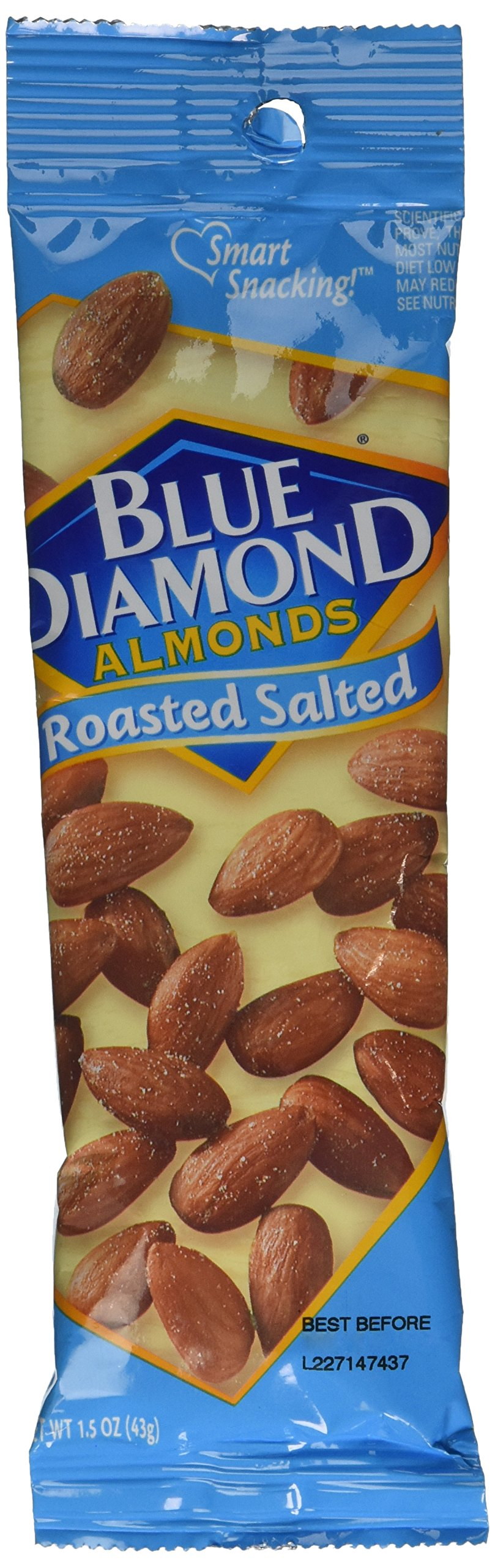 Blue Diamond Almonds, Roasted Salted, 1.5 Ounce (Pack of 12) by Blue Diamond Almonds (Image #2)