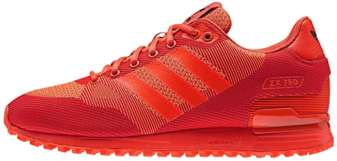 new concept 36608 b88b2 Adidas - ZX 750 WV - S80126 - Color: Red - Size: 9.5: Amazon ...