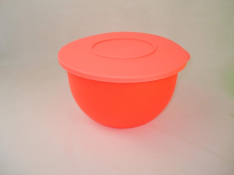 Tupperware Junge Welle Schüssel NEON ORANGE 2,5 Liter Servierschüssel Schale
