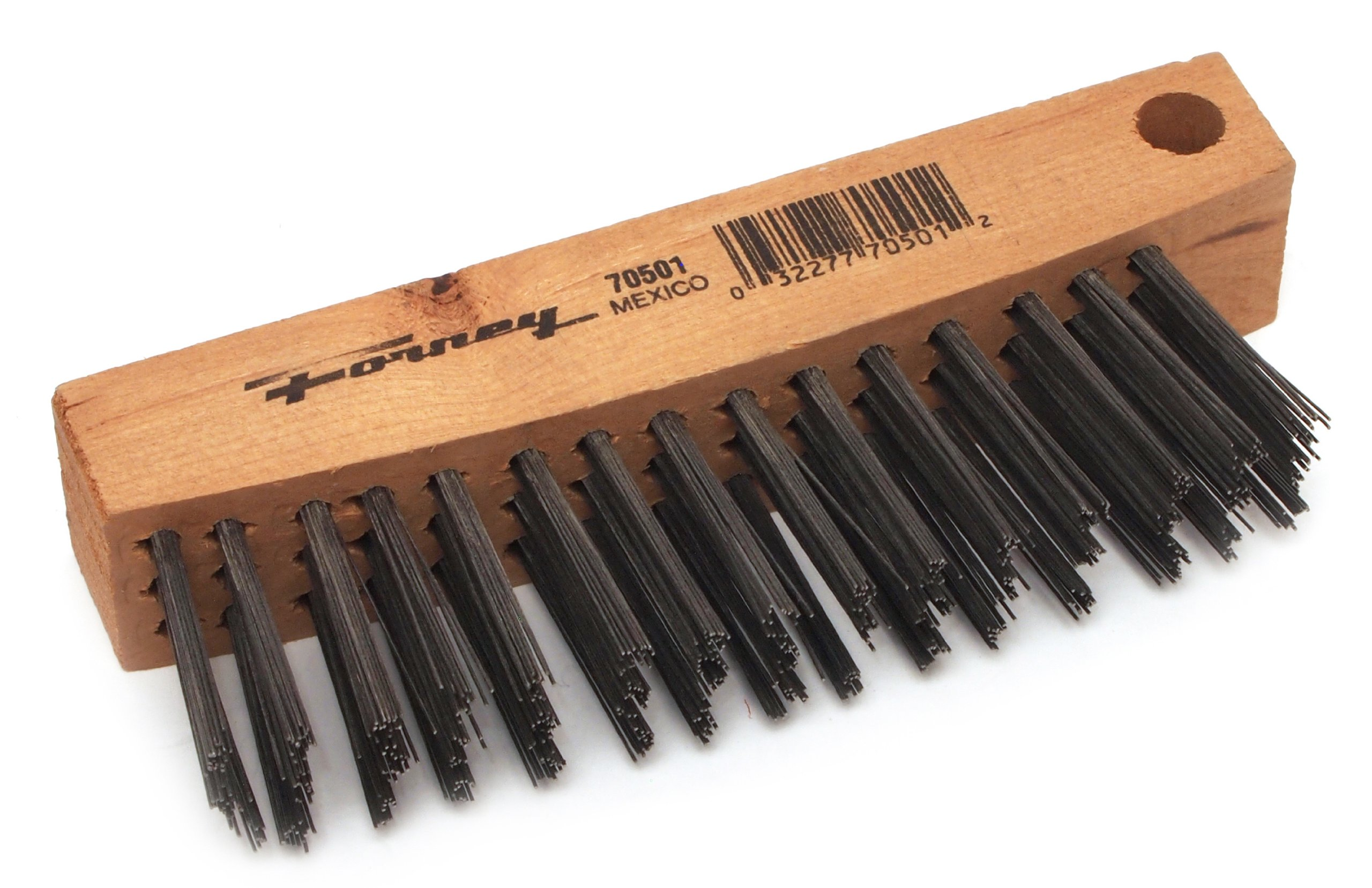 Forney 70501 Wire Scratch Brush, Carbon Steel, Replacement fits Forney 70500
