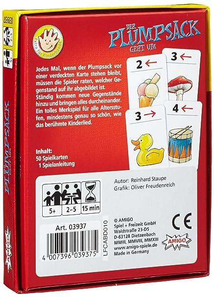 Kartenspiel Spiel Deutsch 2008 Der Plumpsack geht um Kartenspiel Spiele