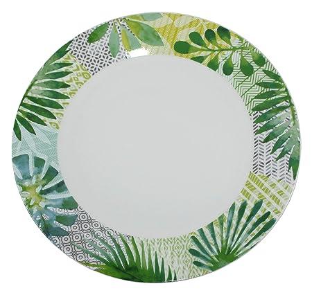 Topkapi Jungle TK de 1016 - Plato/Plato De Desayuno (Porcelana ...