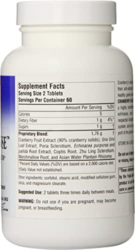 Planetary Herbals Cranberry Bladder Defense 865mg, Supports Genito-Urinary Health