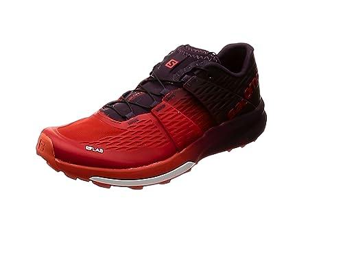 sports shoes 2356a a34bf SALOMON S Lab Sense Ultra 2, Chaussures de Randonnée Basses Mixte Adulte,  Rouge