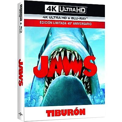 Tiburón - Edición Especial Lenticular (4K UHD + BD + Booklet) [Blu-ray]