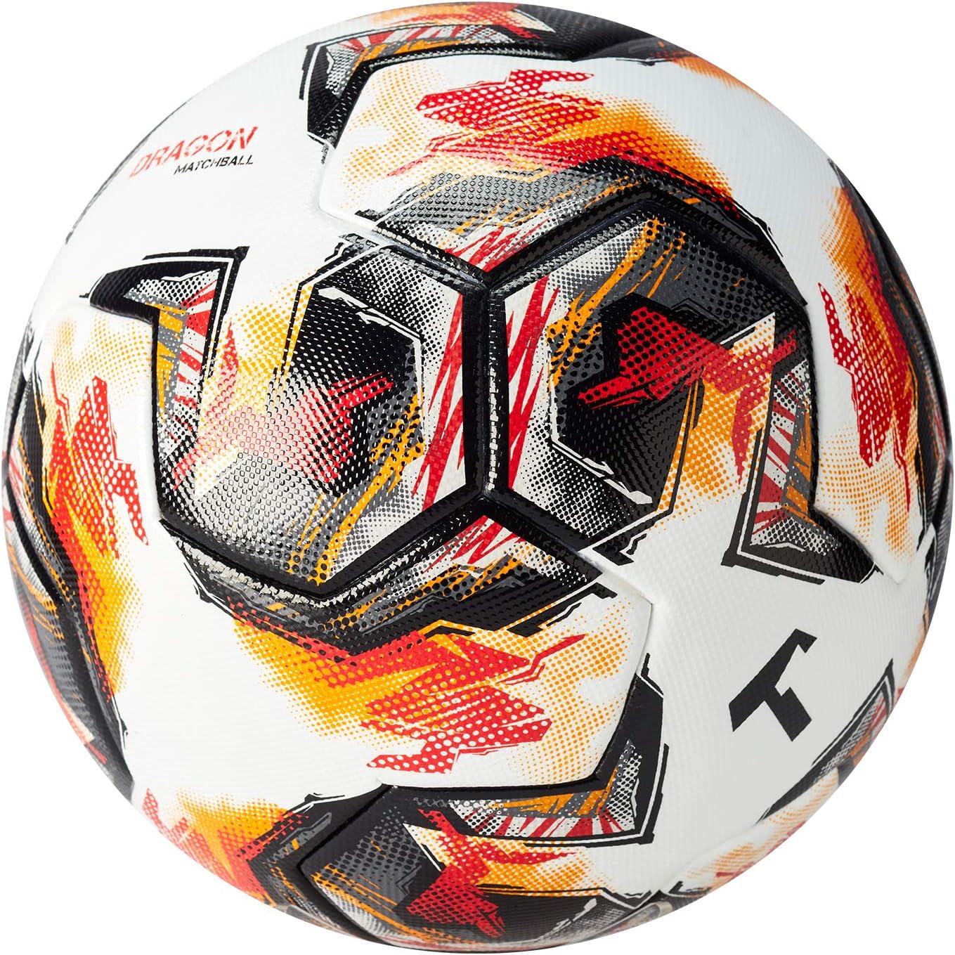 T1TAN Dragon Matchball Gr. 5 für Vereine - Fussball Spielball Herren & Frauen Größe 5 - Thermobonded Ball - nahtlos verklebt: Amazon.de: Sport & Freizeit -