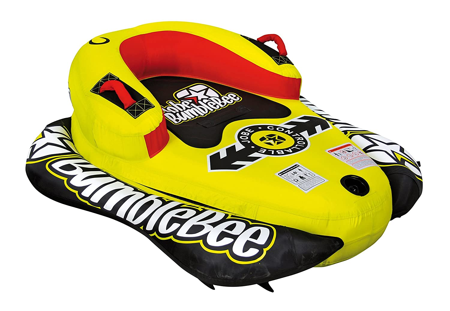 Jobe Bumble Bee 1P - Flotador de Arrastre, Color Amarillo: Amazon.es: Deportes y aire libre