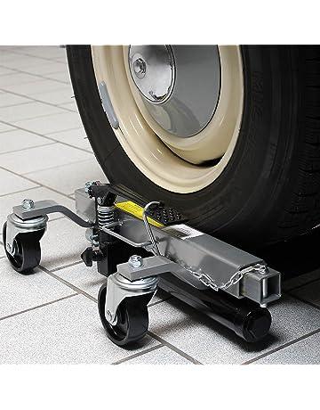 Gatos elevadores Set 2x Capacidad 680kg cada uno Coches Ayuda a maniobras Garajes Talleres mecánicos