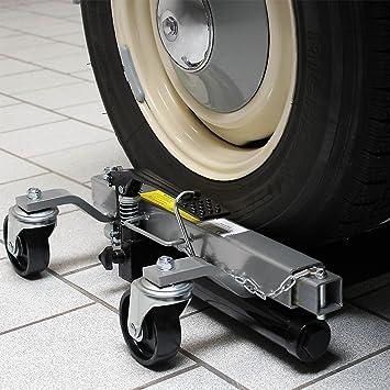 Gatos elevadores Set 2x Capacidad 680kg cada uno Coches Ayuda a maniobras Garajes Talleres mecánicos: Amazon.es: Coche y moto