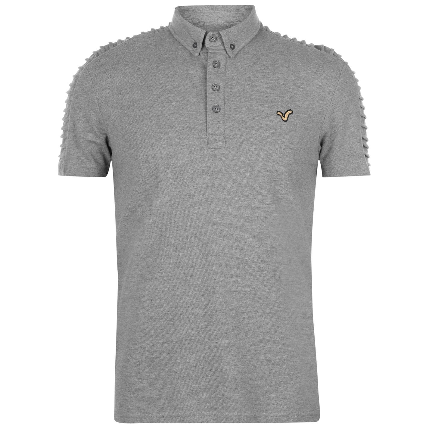 VOI Mens Advanced Polo Shirt Classic Fit Top Short Sleeve