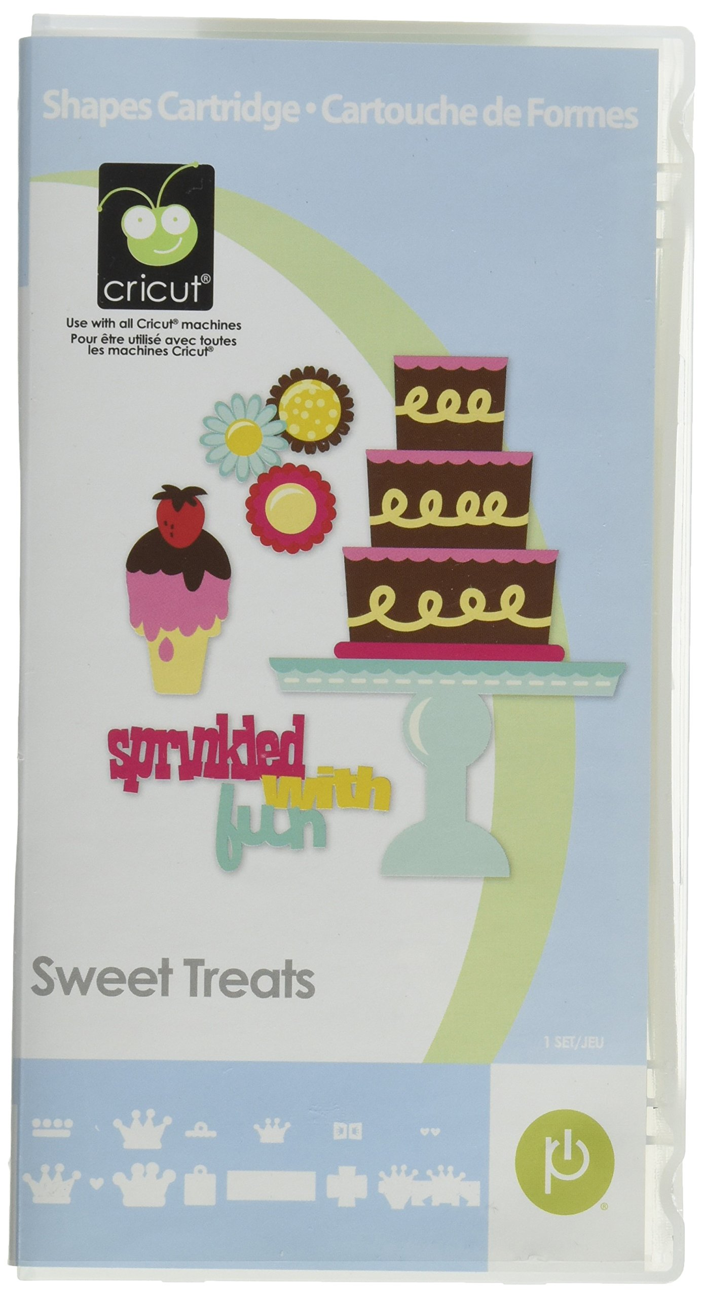 Provo Craft Cricut Cartridge, Sweet Treats