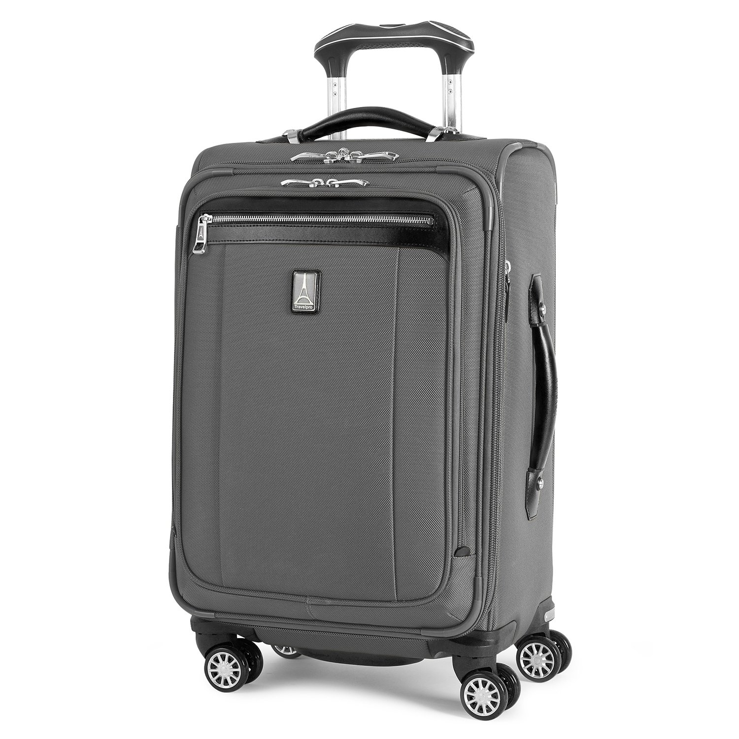 Travelpro Platinum Magna 2 Carry-On Expandable Spinner Suiter Suitcase, 21-in., Charcoal Grey