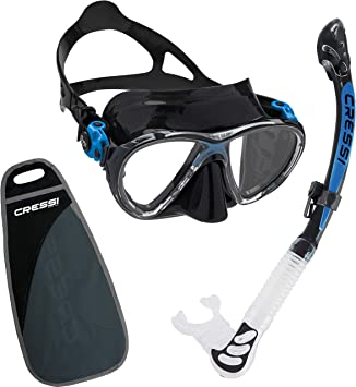 Cressi Mask Storage Large Box Scuba Diving Snorkel Replacement Case With Lid