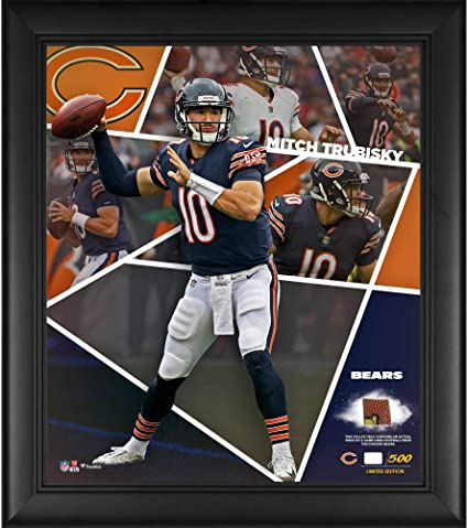 Image Unavailable. Image not available for. Color  Mitchell Trubisky  Chicago Bears ... 870d9d209