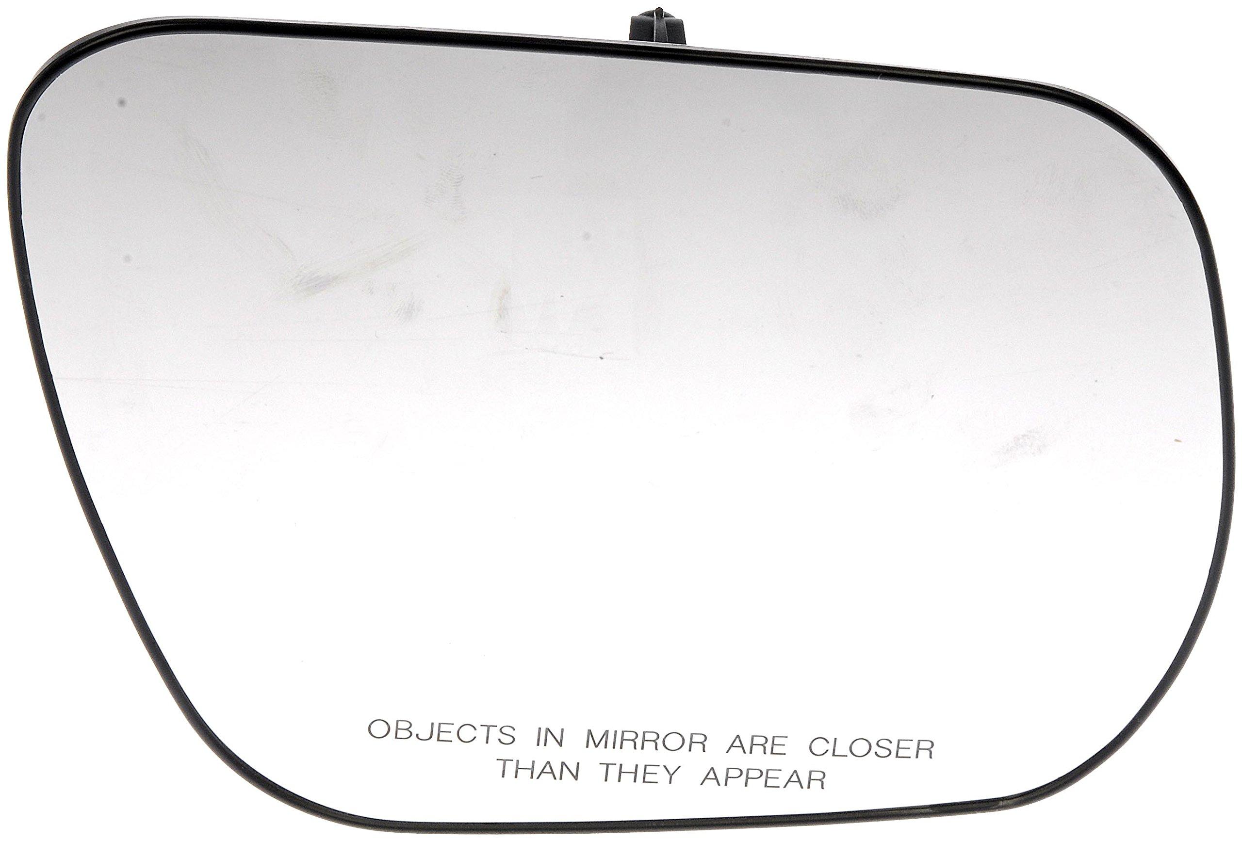 Dorman 56809 Suzuki Passenger Side Plastic Backed Non-Heated Mirror Glass Assembly