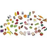 Kidkraft Tasty Treats Play Food Set - 65 Piece Starter Set