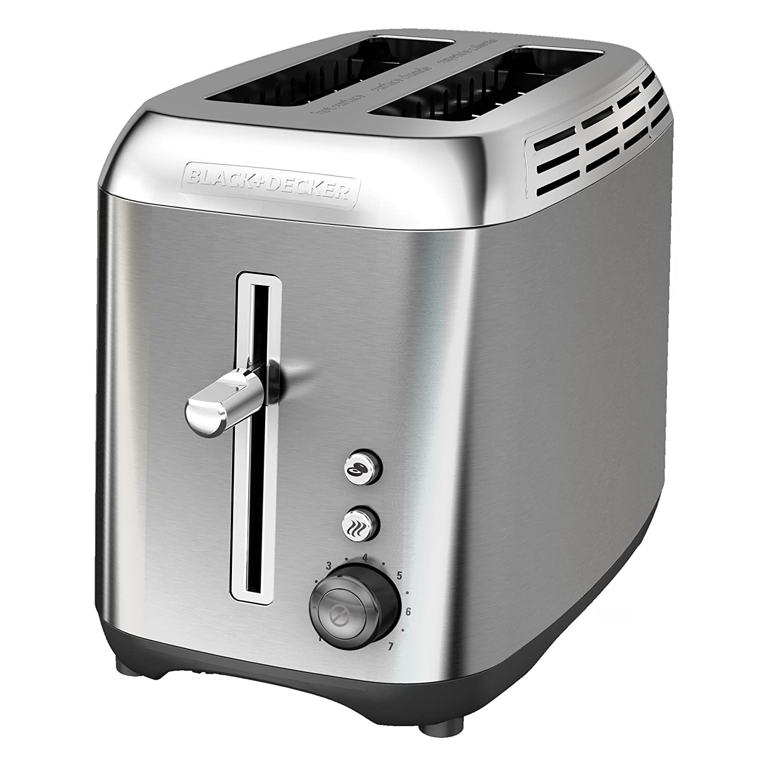 BLACK+DECKER TR3510SD Rapid Toast 2-Slice Toaster, Stainless Steel