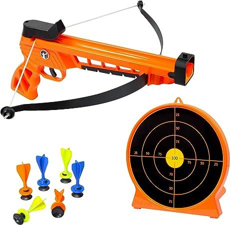 HIT HERE fall SHOOT gun target arrow play sports vintage retro Funny T-Shirt