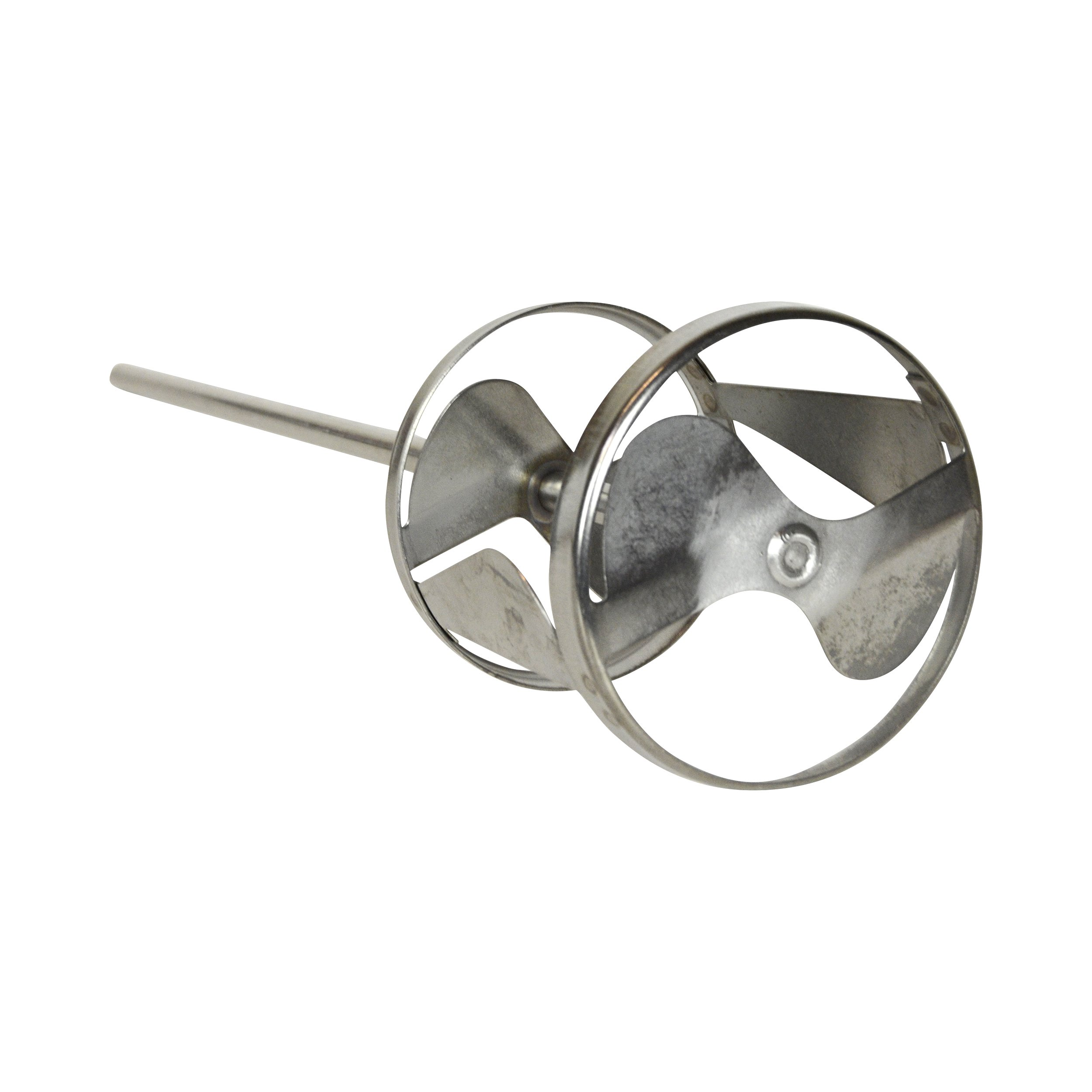 Jiffy Mixer CO. PS-1 1/2'' Shaft 5-10 Gallon Stainless Steel Mixing Blade (4-Pack) by Jiffy Mixer (Image #3)