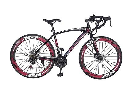 Bicicleta de carretera urbana, ciclismo, bicicletas sport, Shimano, frenos de disco,