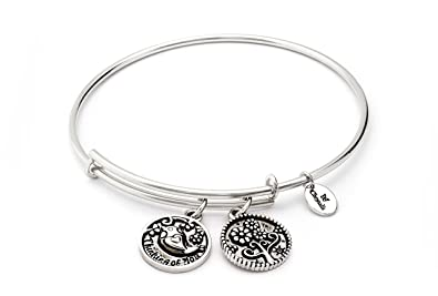 3df001b377b48 Chrysalis Thank You Expandable Bangle CRBT0716SP: Amazon.co.uk ...