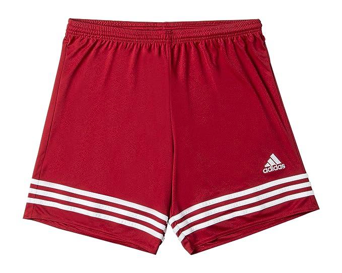 in vendita bb14e 54c9c adidas - Pantaloncino Entrada 14 da Uomo, Colore Rosso-Bianco, Taglia XS