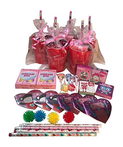 Amazoncom Mixed Valentines Day Pre Filled Favor Gift Bags