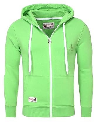 75f2d8ec20b9 Akito Tanaka Herren Sweatjacke Jacke Weste Zip Pullover Hoodies Sweatshirt  mit Kapuze  Amazon.de  Bekleidung