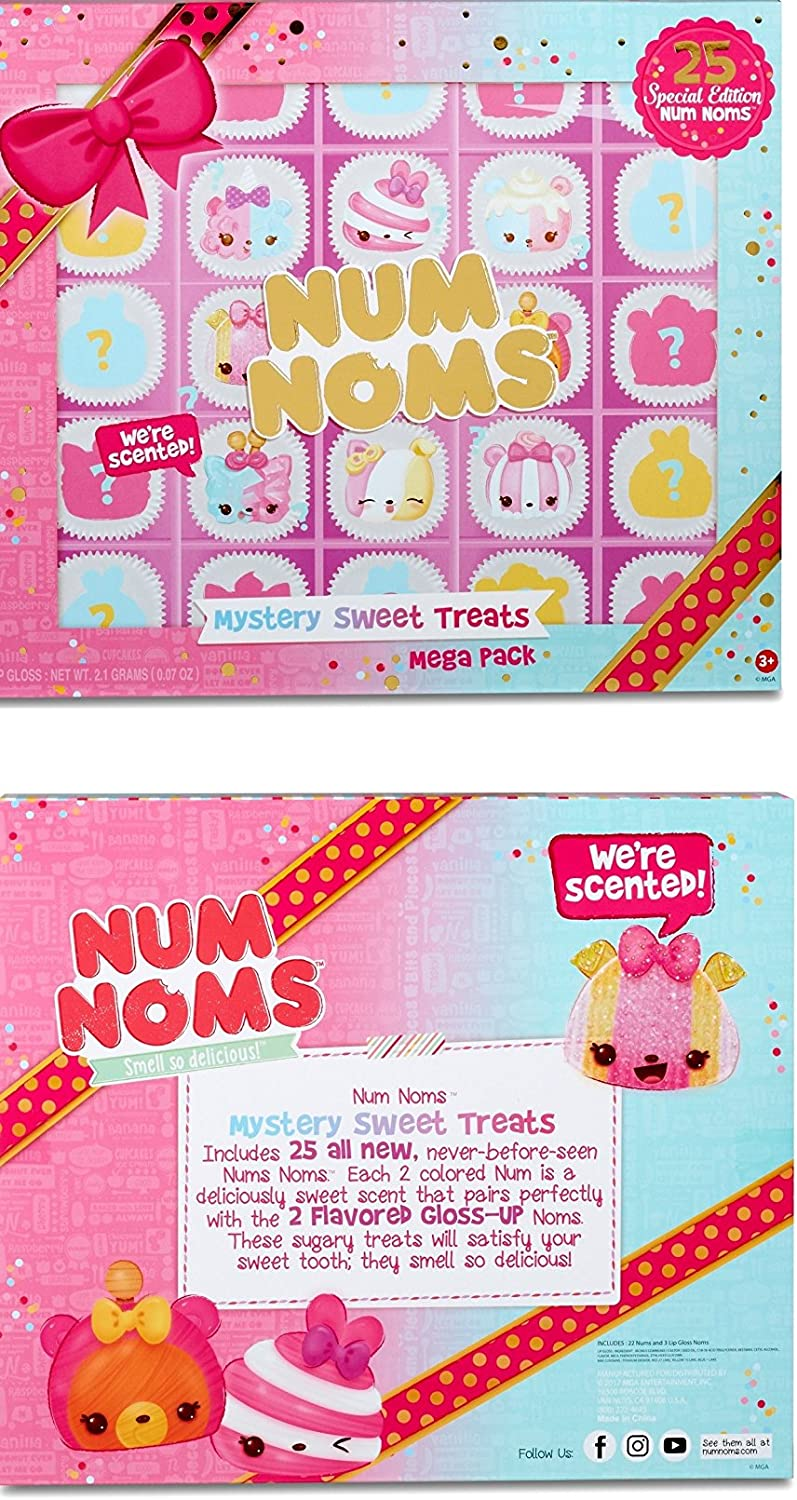 MGA Entertainment New and Exclusive! Mega Pack NUM NOMS Mystery Sweet Treats 25 Special Edition: Amazon.es: Juguetes y juegos