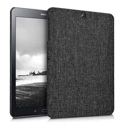new product c0d2d 9626c kwmobile Hardcase Fabric Cover for Samsung Galaxy Tab S2 9.7 - Cover Case  in Fabric Dark Grey