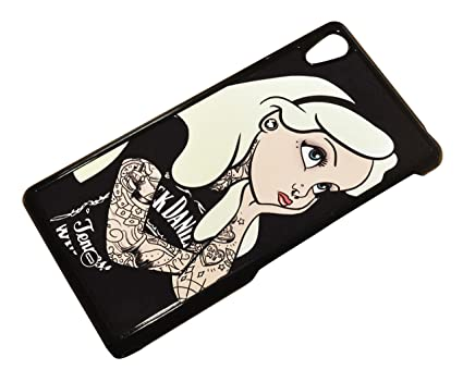 Case Cover For Sony Xperia Z2 Alice In Wonderland Tattoo Bad