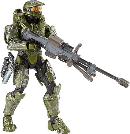Amazon.com: Halo UNSC Battle Master Chief Figure, 6