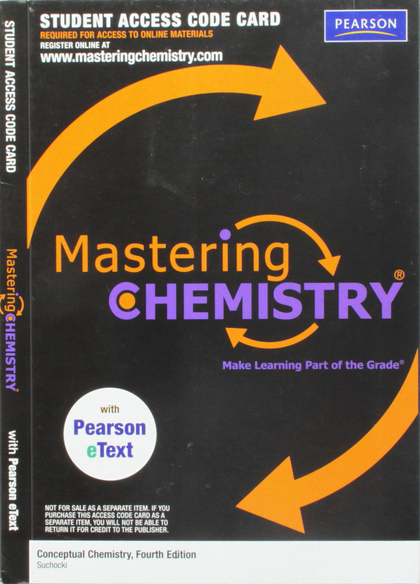 Download MasteringChemistry with Pearson eText -- Valuepack Access Card -- for Conceptual Chem (ME component) pdf epub