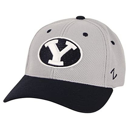 outlet store f9f84 bcab9 Zephyr NCAA Sport Fitted Hat (Bingham Young Cougars, Medium Large)