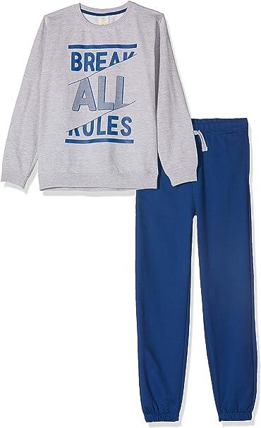 ZIPPY Chándal Break Rules, Azul (Classic Blue 19/4052tc 751), 10 ...