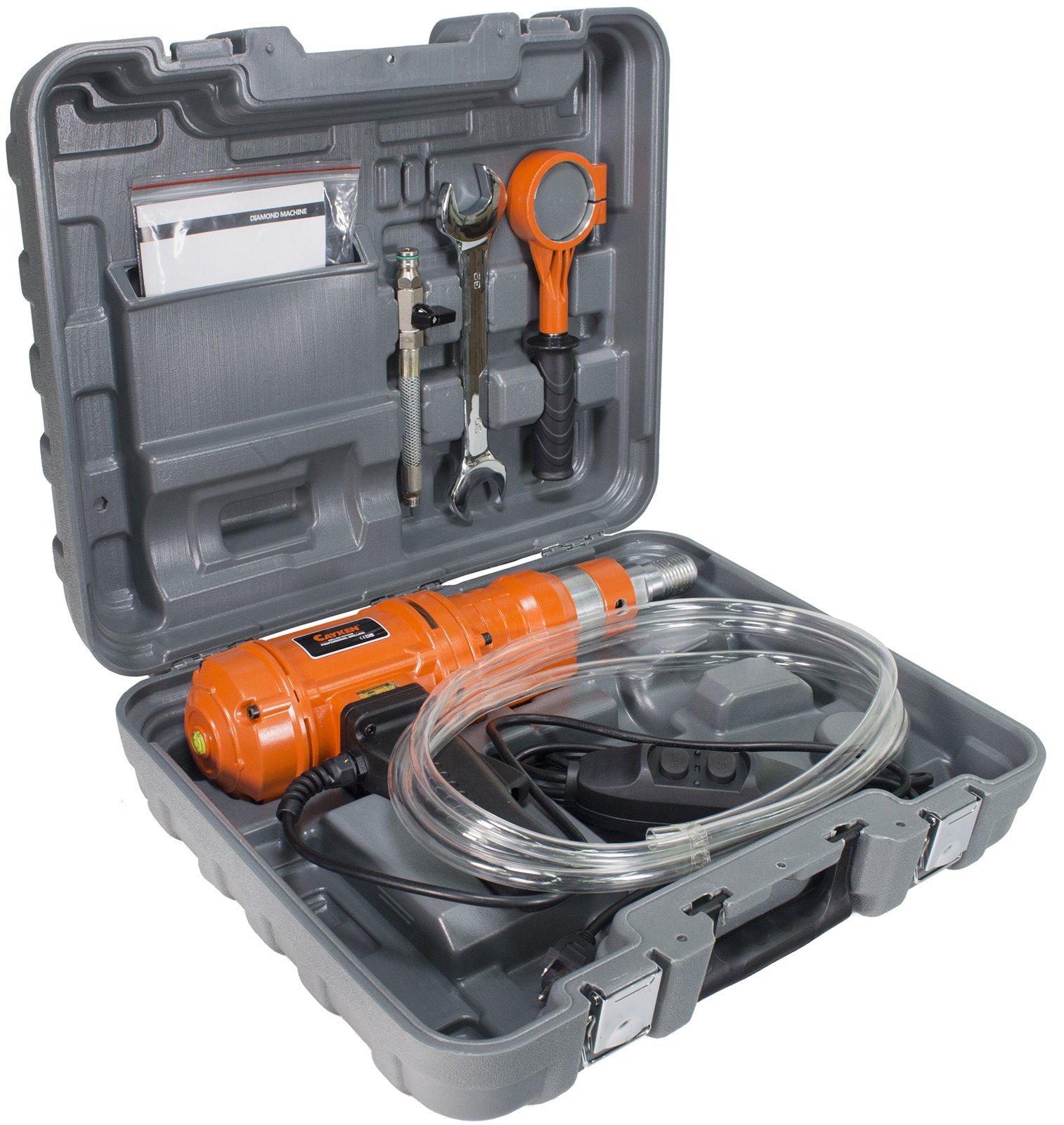 Cayken SCY-1520-2BS 6'' Wet Dry Handheld Diamond Core Drill Rig