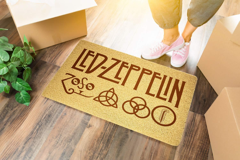 com led zeppelin doormat sweet home supplies decor