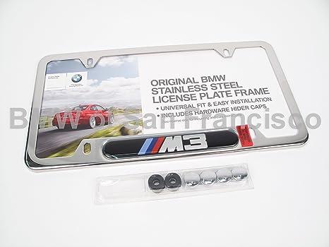 Amazon.com: BMW License Plate Frame M3 polished: Automotive