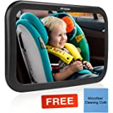 Baby Car Mirror, MTSZZF Baby Car Back Seat Mirrors , View Rear Facing Infant in Back Seat - Crash Tested and Certified for Safety