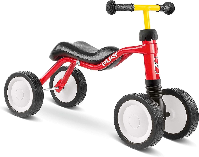 Puky Wutsch - Bicicleta Infantil con Ruedas, Color Rojo